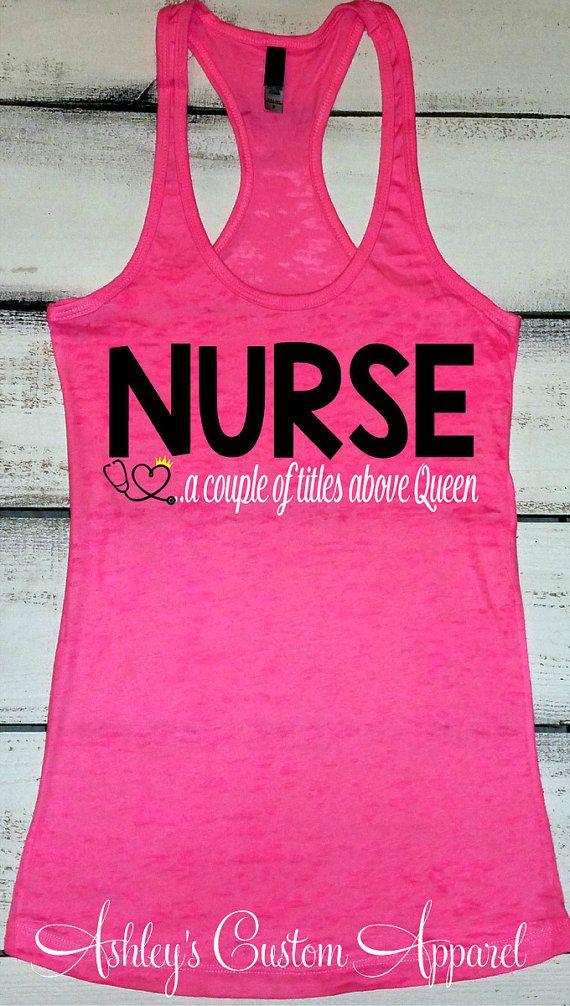 Nurse Shirt, RN Shirts, Funny Nurse Shirt, Shirts for a Nurse, Nurse Gifts, Nursing Student, Registered Nurse Tshirts, LVN Shirt   by AshleysCustomApparel