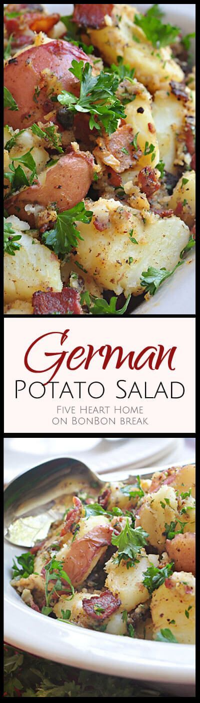 how to make the best german potato salad