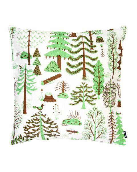 Kauniste- Metsa Green Cushion Cover 18.5 x 18.5  $32