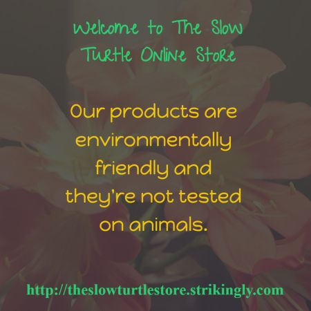 Welcome to The Slow Turtle Online Store