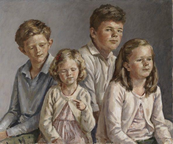 Richard Foster 'Stanton Children' a family portrait