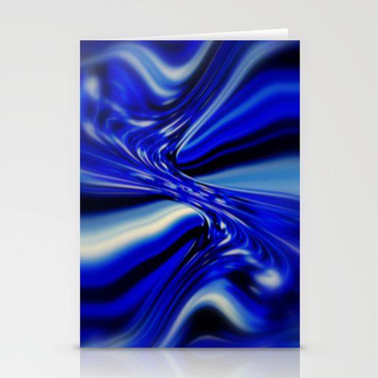 Fractal Art, Blue, Abstract, Décor, Apparel, Design.
