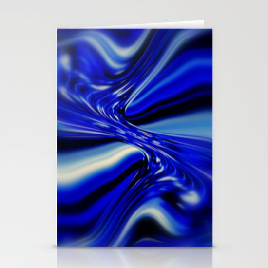 Fractal Art, Blue, Abstract, Décor, Apparel, Design.