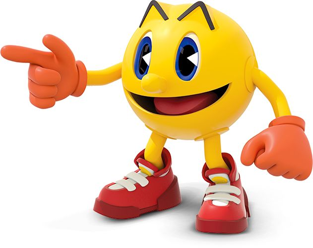 I love this incarnation of Pacman! He looks so cute like that! I'm always watching the cartoon with my brother! We love it!!