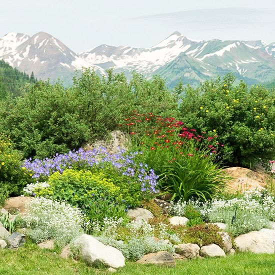 Alpine Garden Design Exterior Enchanting Decorating Design