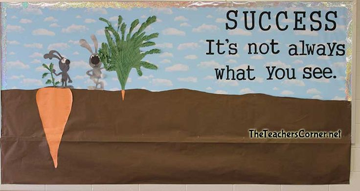Bulletin Board Ideas - Motivational