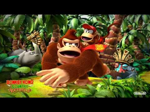 Donkey Kong Country Returns Music - Jungle Hijinx