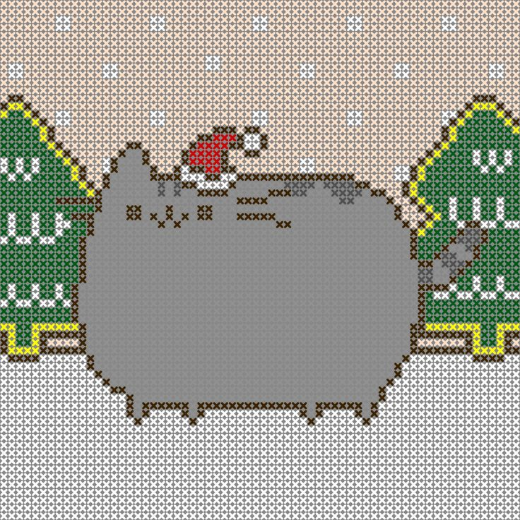 Pusheen Knitting Pattern : 632 best images about Fandom on Pinterest Perler beads ...