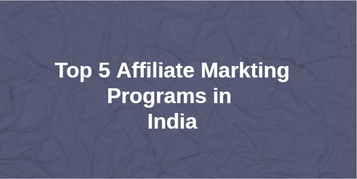 I have discussed the Top 5 Affiliate Marketing Programs in India which are used by many Indian bloggers and other websites. Also know how to avoid mistakes.