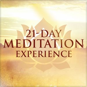 Oprah & Deepak's 21-Day Meditation Experience makes meditation easy, fun, and inspiring. Find out more...  #OMagInsiders