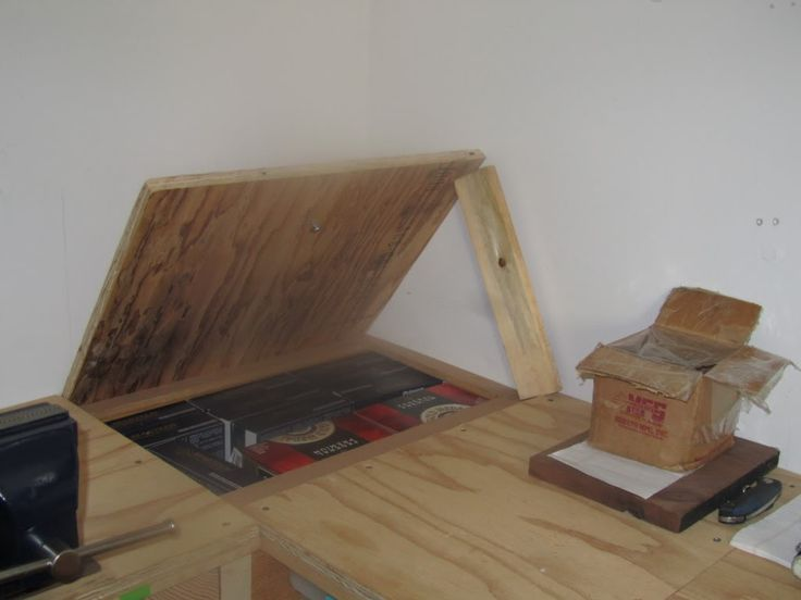 Corner Reloading Bench Plans - WoodWorking Projects & Plans