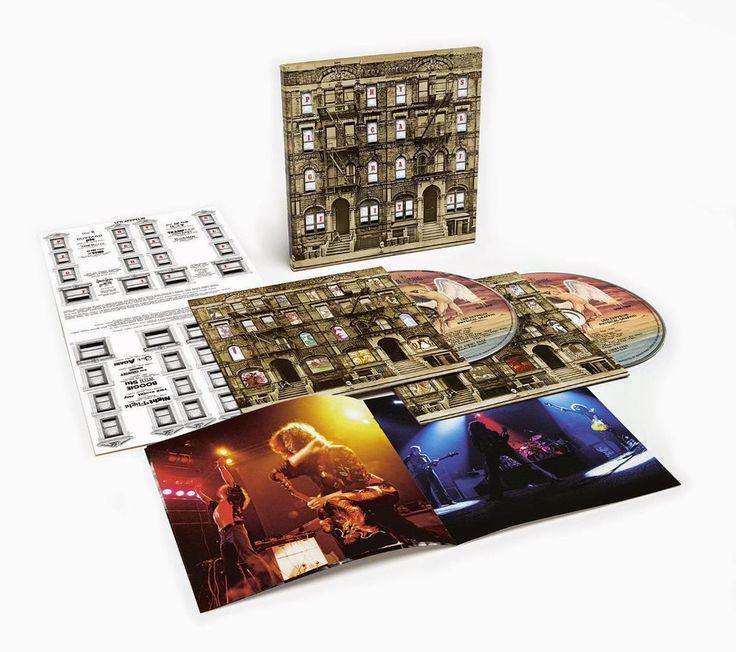 Led Zeppelin - Physical graffiti VINILE Deluxe (nuovo album/disco sigillato) 3CD 40 anni fa i #LedZeppelin pubblicavano, quello che sarebbe divenuto, uno degli album più interessanti della storia musicale: #PhysicalGraffiti !! Da martedì 24 (un pezzo di storia, della musica internazionale, a casa tua)!! Da #Cdclub tutte le versioni celebrative tra cui il formato Deluxe (con 7 inediti) in CD (3CD)