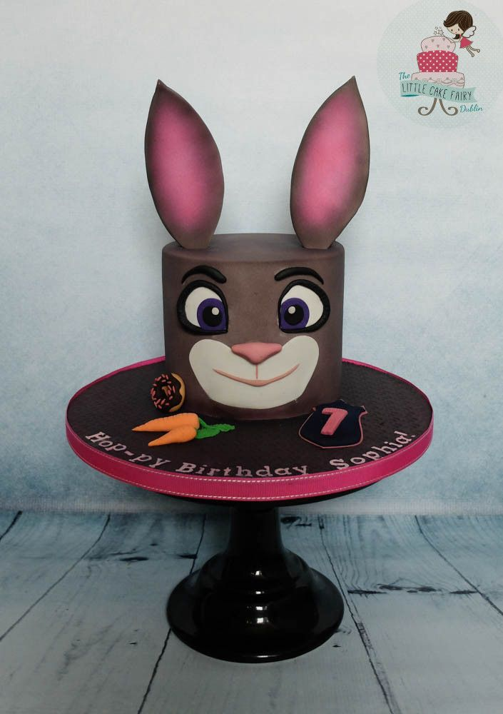 Judy Hopps from the Zootopia/Zootropolis Movie  www.littlecakefairydublin.com www.facebook.com/littlecakefairydublin