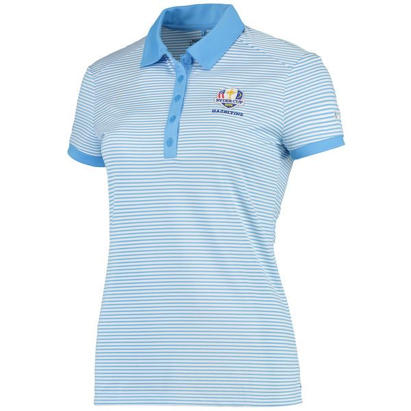 Nike Golf Women's 2016 Ryder Cup Victory Stripe Performance Polo - Blue/White - $40.99
