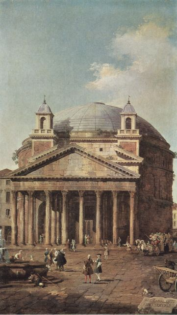 Canaletto: Rome: The Pantheon - insieme