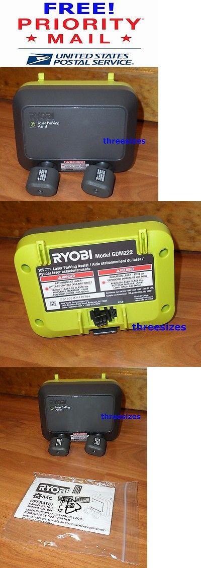 garage door parts and accs garage dual laser park assist accessory ryobi smart garage