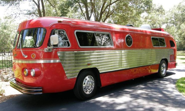This is so much more attractive than a modern motor home.