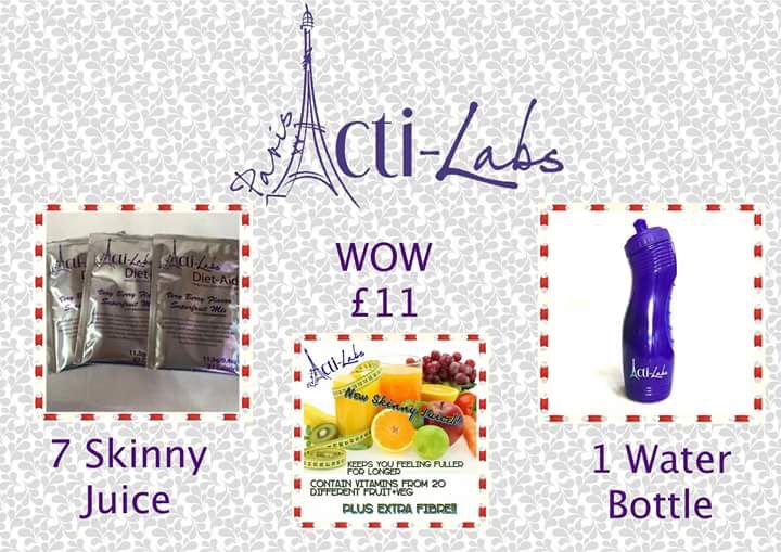 Our skinny juice that sold 50,000 units in 3 hrs thank god ive got mine  https://acti-labs.com/me/elaine-oflynn