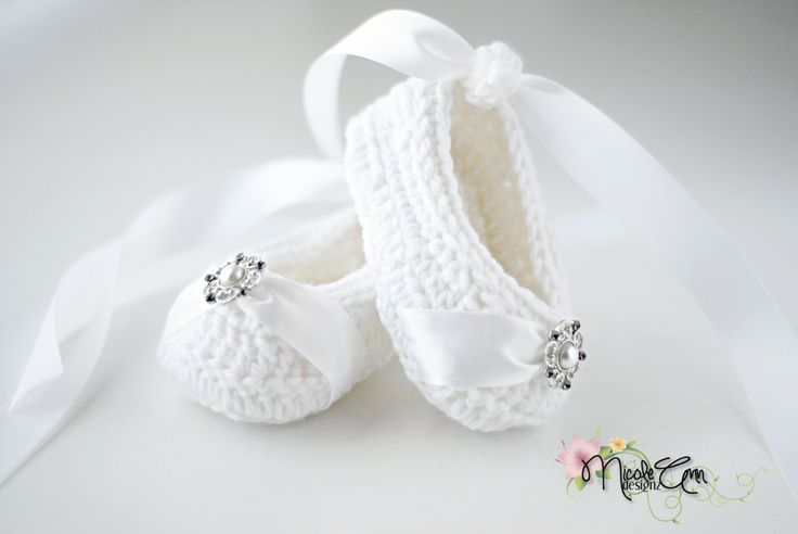Ballerina style Baptism/Chistening Shoes by NicoleAnnDesignz, $25.00