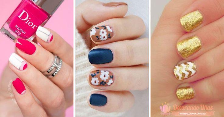 30 Diseños de uñas decoradas para el 2017   Decoración de Uñas - Nail Art - Uñas decoradas