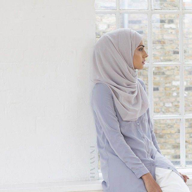 INAYAH | Pale Blue Long Shirt #Abaya + Feather Grey Georgette #Hijab #inayahclothing #modeststyle #modesty #modestfashion #hijabfashion #hijabi #hijabifashion #covered #Hijab #jacket #midi #dress #dresses #islamicfashion #modestfashion #modesty #modeststreestfashion #hijabfashion #modeststreetstyle #modestclothing #modestwear #ootd #cardigan #springfashion #INAYAH #covereddresses #scarves #hijab #style