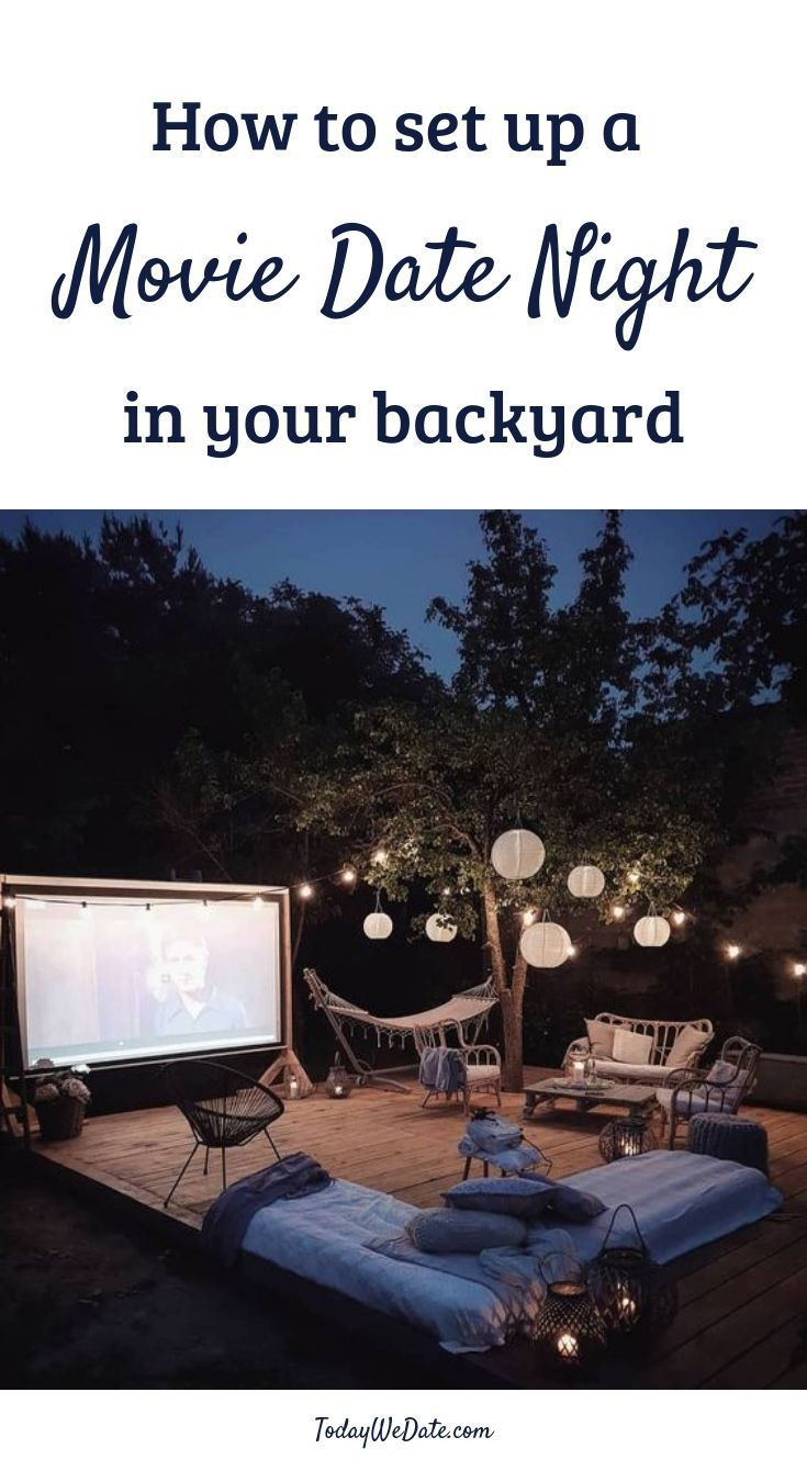 The Ultimate Guide To A Perfect Backyard Movie Night Outdoor Movie Screen Backyard Movie Theaters Backyard Movie Screen