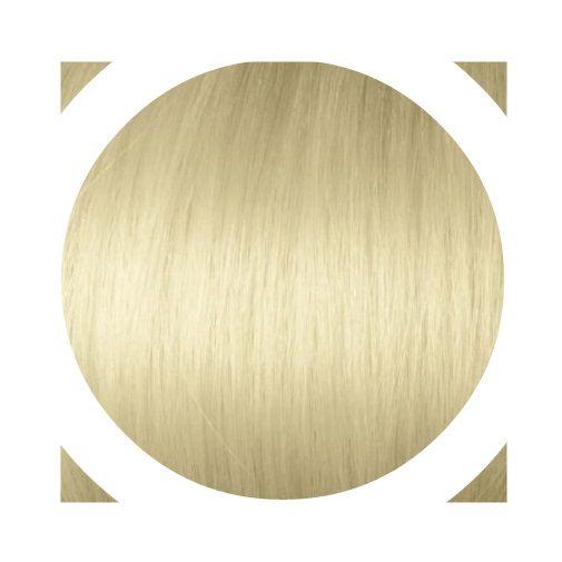 """Indisches Remy Haar - Italienisches Keratin   """"Premium Haar"""" Angen's Extensions mit keratin Technische Daten: Haar-Qualität: 100% Echthaar   Anzahl : 20 Strähnen Gesamtgewicht: 20g Haarlänge: ca. 55/60cm Haarstruktur: Glatt Farbe: Hellgoldblond #DB2 Hitzeresistent: Ja (Normales stylen mit Föhn, Glätteeisen, Lockenstab etc. möglich) Durchschnittliche Haltbarkeit: ETWA 6 Monate"""