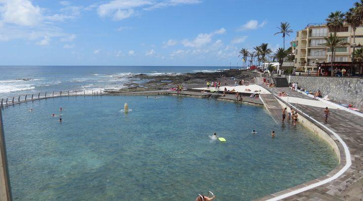 Canary Islands - Tenerife - Punta del Hidalgo - Piscina natural  - Natur...