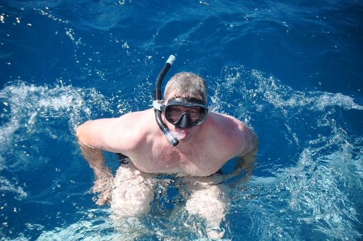 Snokelling at Great Barrier Reef Australia