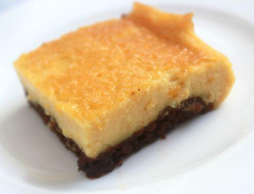 Receta: Cheesecake brownies   Recetas   Fiestafacil Blog