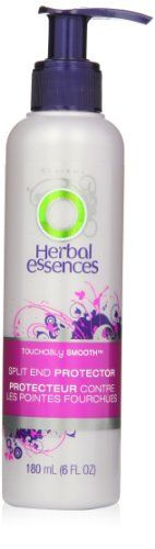 awesome Herbal Essences Touchably Smooth Split End Protector Hair Care 6 Fl Oz