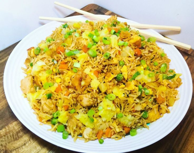 Read our delicious recipe for Healthy Chicken and Pineapple Fried Rice, a recipe from The Healthy Mummy. A perfect weeknight meal using leftover rice.