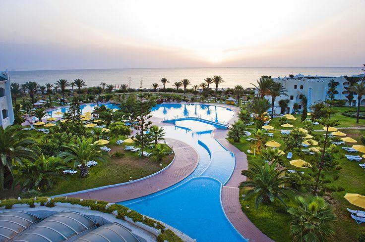 Hôtel Mahdia Beach ****, Maroc, Golfe d'Hammamet http://bit.ly/MahdiaBeach