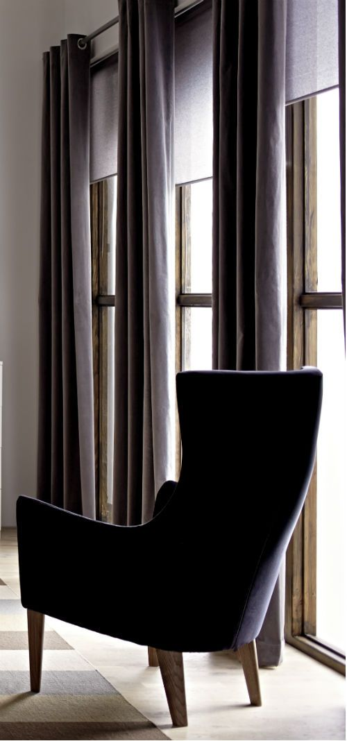 curtains help your bedroom feel like a cocoon and regulate light and reduce traffic noise