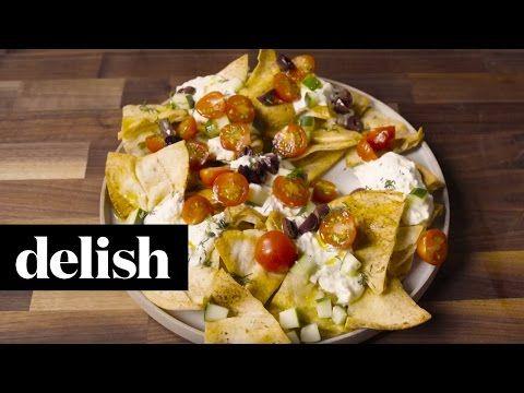 Las mejores nachos griegos