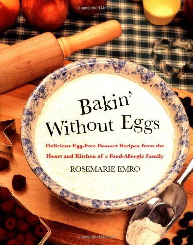 Delicious recipes for cookies, cakes, and other baked goods that use no eggs!