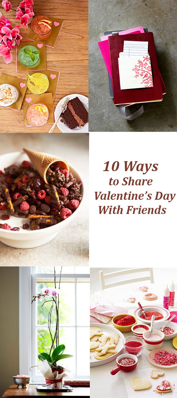 10 ways to show your friends you care on Valentine's Day! http://www.midwestliving.com/blog/life/10-ways-to-show-friends-you-care-on-valentines-day/