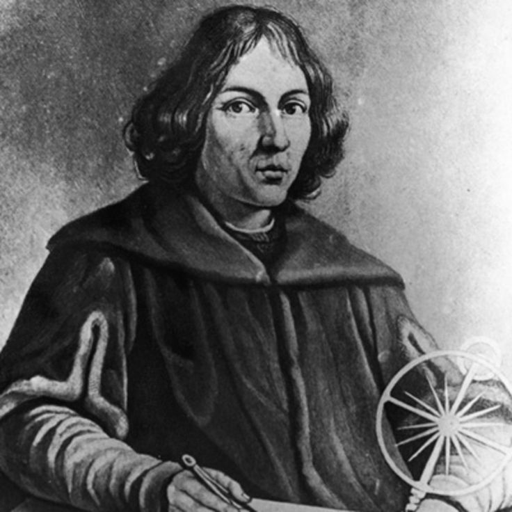 Astronomer Nicolaus Copernicus was instrumental in establishing the concept of a heliocentric solar system, in which the sun, rather than the earth, is the center of the solar system.