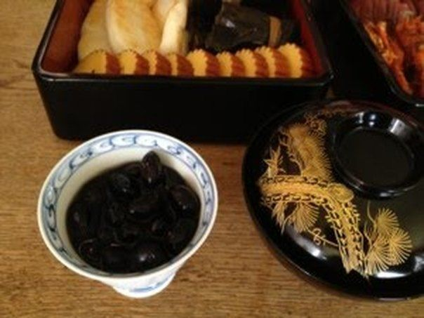 Easy Time-Saving Simmered 'Kuromame' Black Soybeans