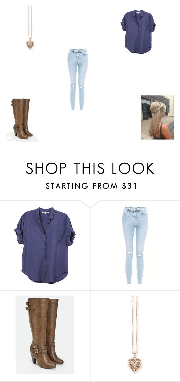 """""""Since U Been Gone (Kelly Clarkson)"""" by mercy-xix ❤ liked on Polyvore featuring Xirena, New Look, JustFab and Thomas Sabo"""