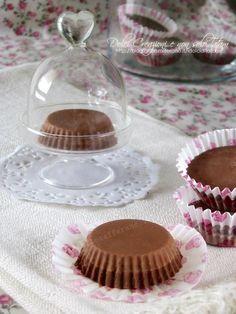 Cioccolatini cremosi ai tre cioccolati