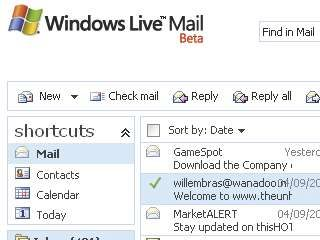 Windows Live Mail (Beta) review | Hotmail will eventually become Windows Live Mail, but whether it can ever become as good as Gmail remains to be seen. For starters, online storage is only 2GB, the search function doesn't extend to attachments... Reviews | TechRadar
