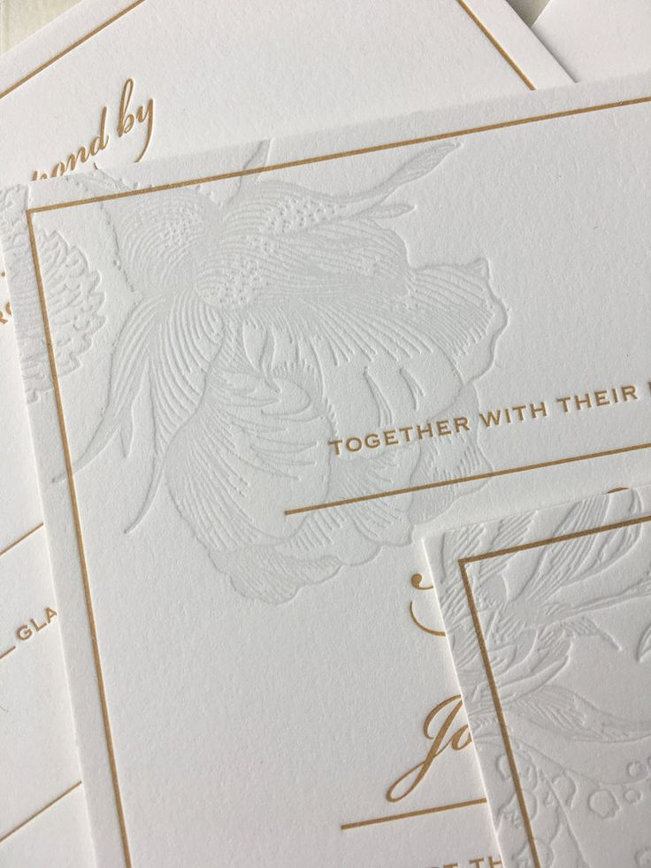 sample wedding invitation letter for uk visa%0A Spring floral letterpress wedding invitation with a hint of gold  Lovely  rose illustration in a