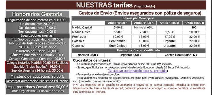 Legalizacion de documentos y apostilla de la haya. Legalizaciones y gestiones en Madrid.