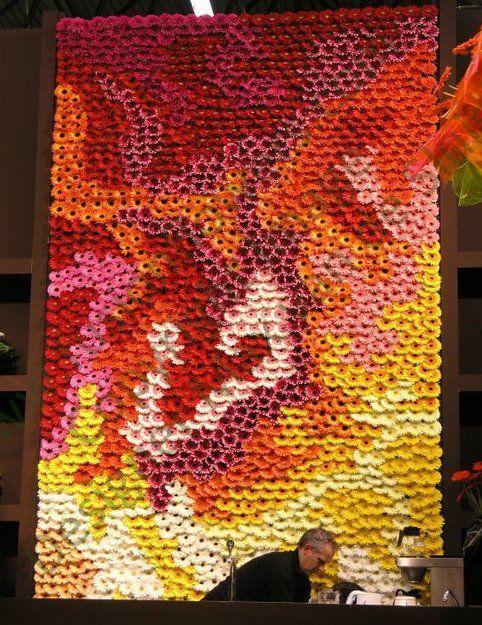 fusion flowers installation, designed by Max Van Der Sluis