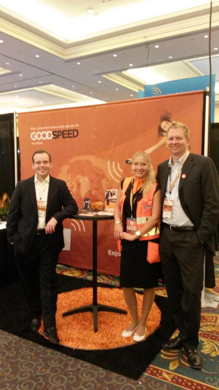 The Goodspeed team at the CTIA Show 2014 in Las Vegas! #SuperMobilityWeek