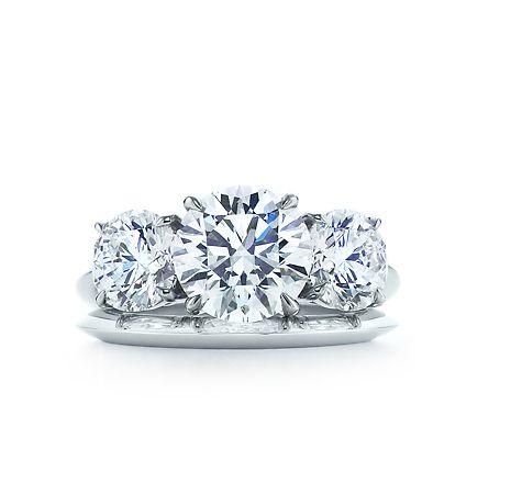 Tiffany & Co. | Engagement Rings | Round Brilliant Three Stone | United Kingdom