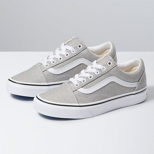 Vans Retro Block Old Skool Canvas & Suede Skate Shoes