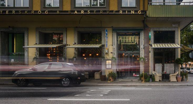 Paraden Restaurant Valhallavägen Stockholm LPFLEX LED letters Signage