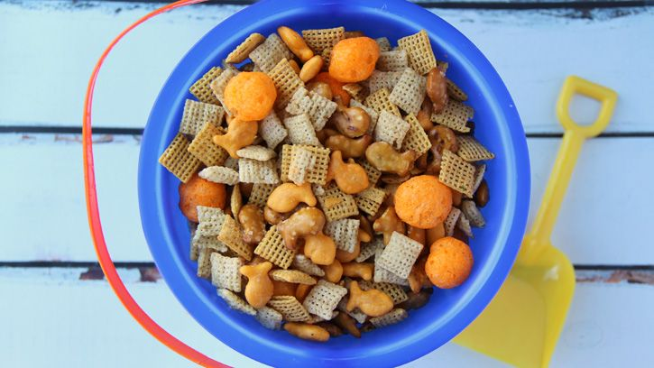 Beach Ball Party Chex Mix